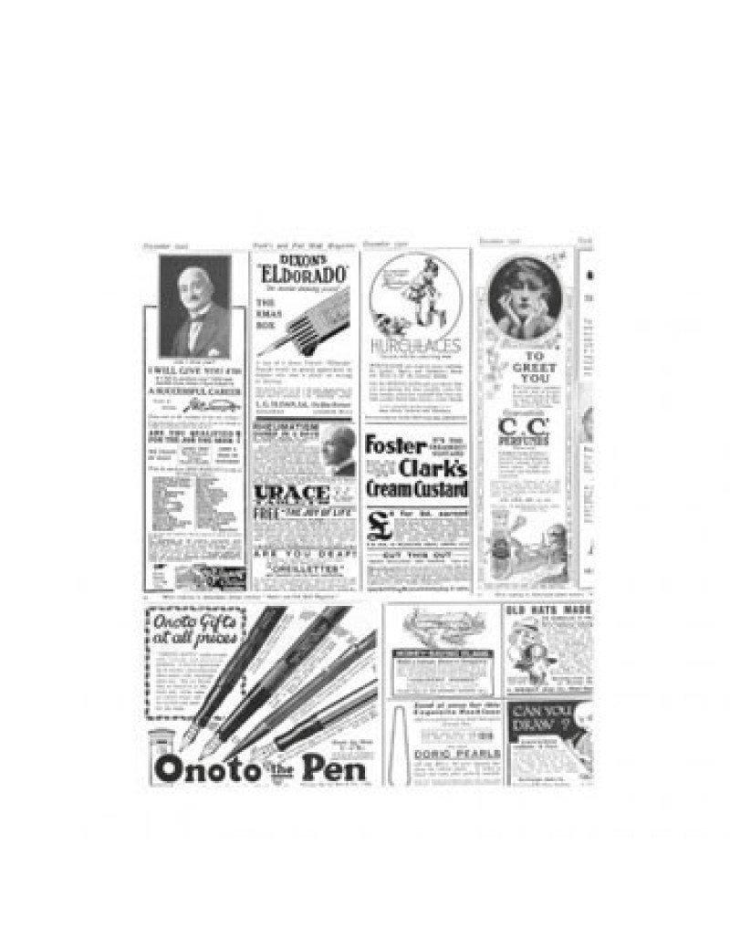 Vetvrij wikkelpapier krant 28x34cm