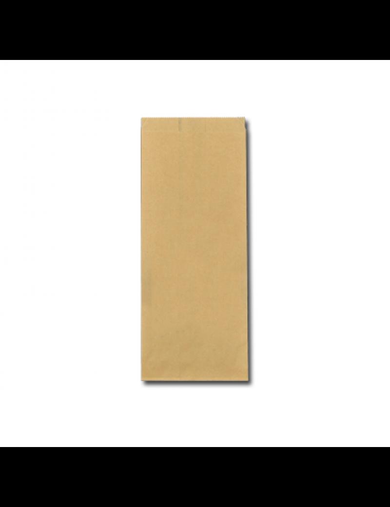 FSC® papieren snackzak 13+8,5x32cm nr.27 (1 pond)
