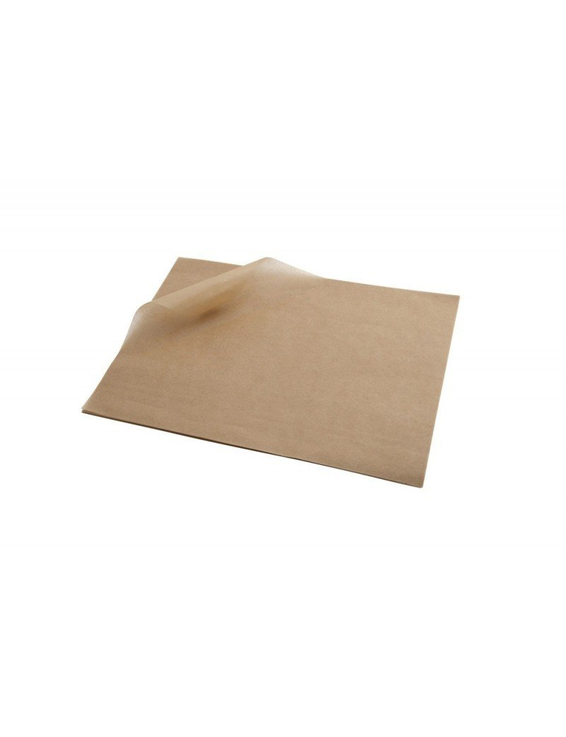 Vetvrij wikkelpapier bruin 28x34cm
