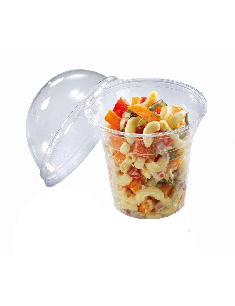 PLA salade shaker 200ml/96mm Ø