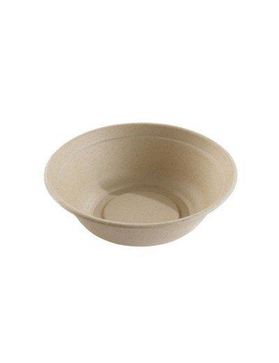Suikerriet bowl 1000ml/21cm Ø/6cm hoog bruin