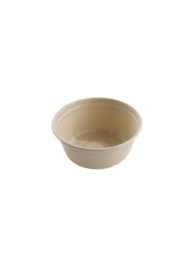 Suikerriet bowl 500ml/15cm Ø/6cm hoog bruin