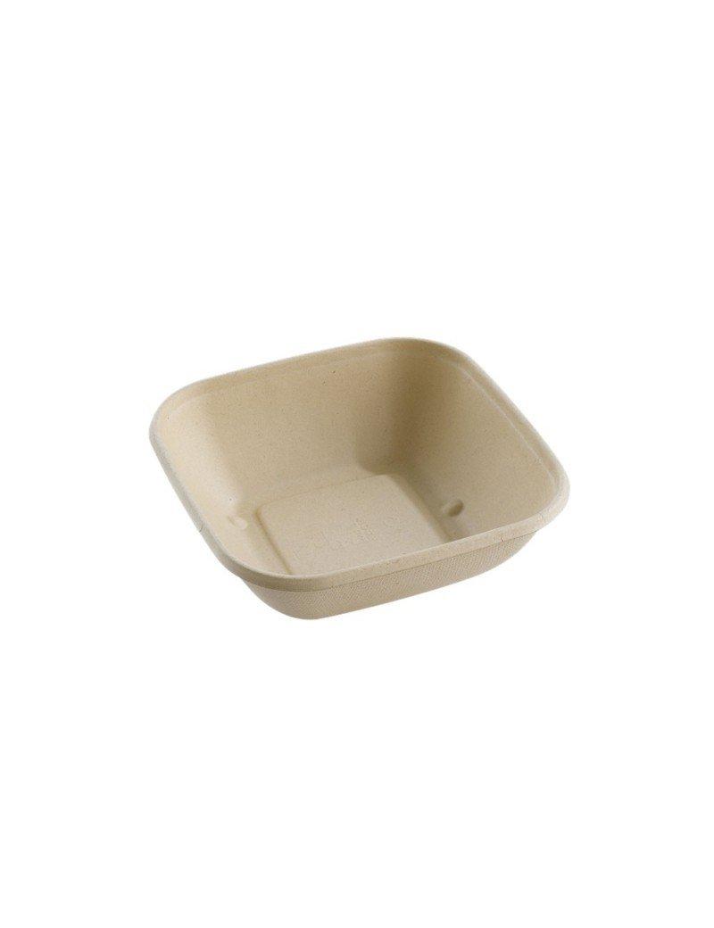 Suikerriet box vierkant 750ml/170x170x52mm