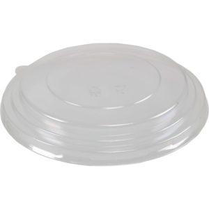 PET deksel voor kraft saladebowl 500, 750, 1000 ml
