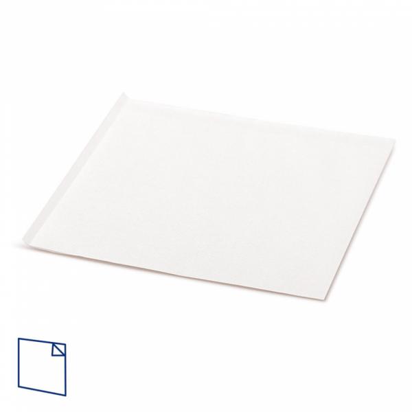 Sandwich zakje, 2 kanten open wit, 18 bij 18,2 cm zonder