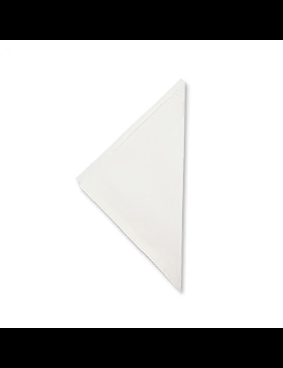 Papieren frietzak K17 wit