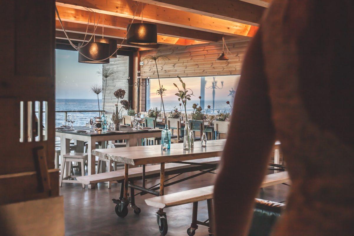 Strand bio disposables restaurant paviljoen