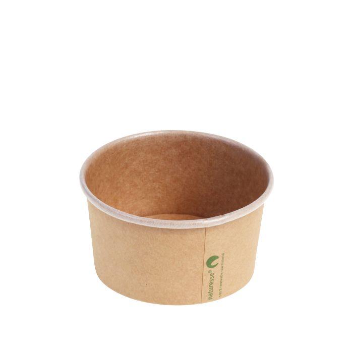 Kraft PLA foodcontainer 240 ml