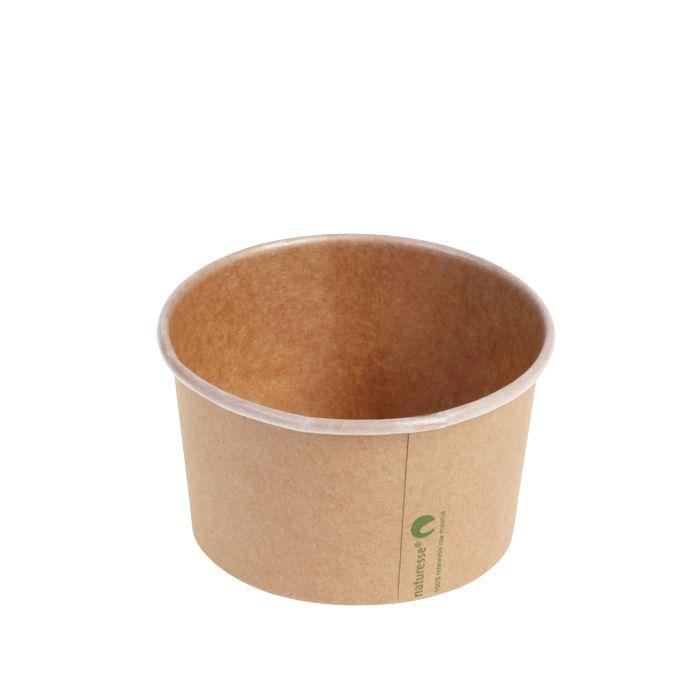 Kraft PLA foodcontainer 360 ml