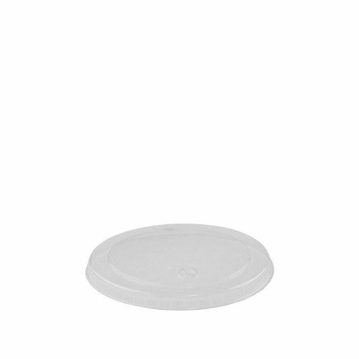 PLA deksel 96mm Ø voor foodcontainer 240 ml