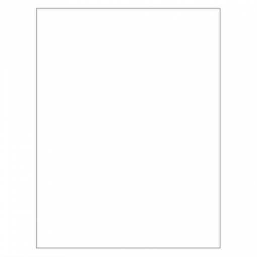 Vetvrij wikkelpapier wit 31x38 cm