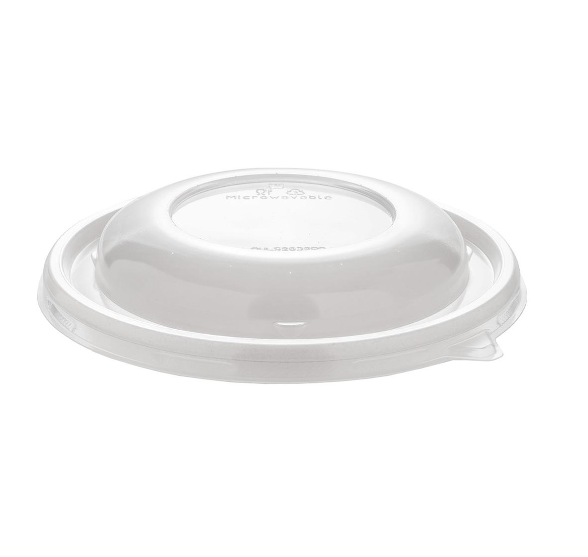 Domed PP deksel voor bowl 21cm Ø