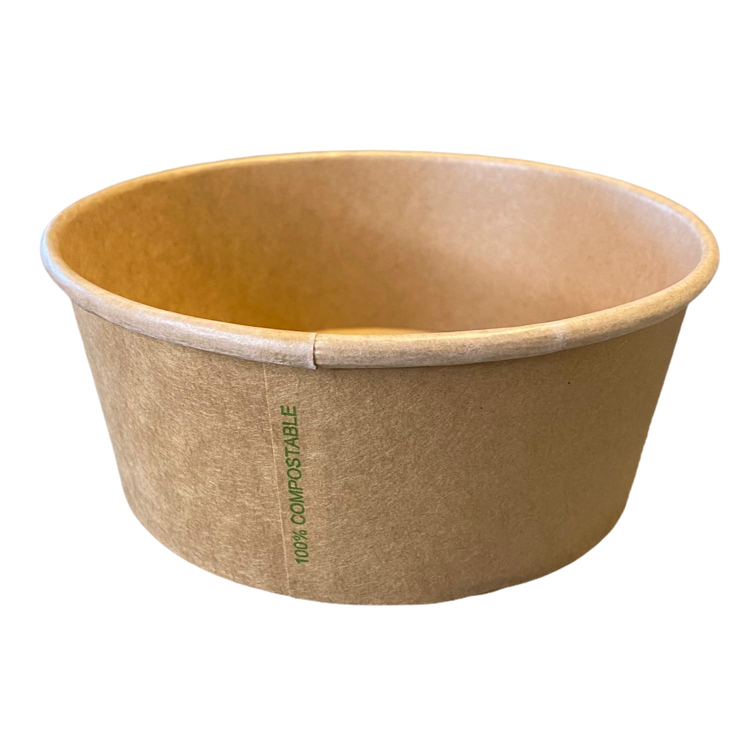 Kraft PLA salade of maaltijd bowl 750 ml