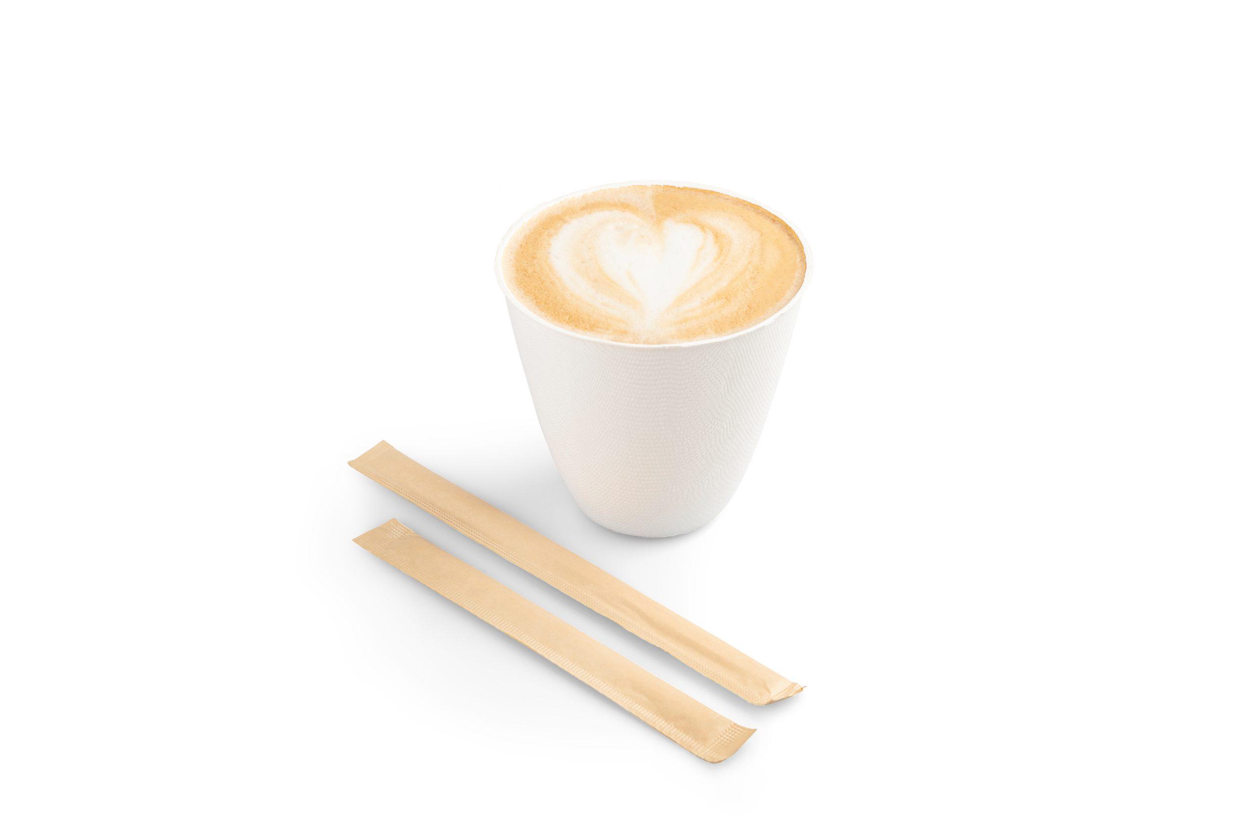 Roerstaafje hout 110 mm (FSC®) per stuk verpakt Sier Disposables