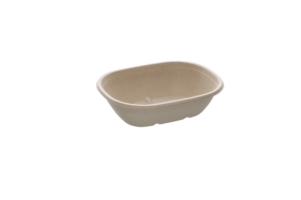 Eco street Oval saladebowl 620 ml 19 bij 15 cm 5 cm hoog