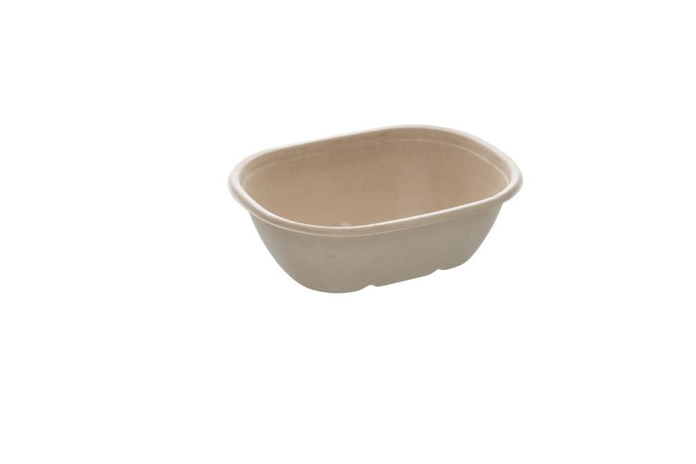 Eco street Oval saladebowl 770 ml 19 bij 15 cm 6 cm hoog