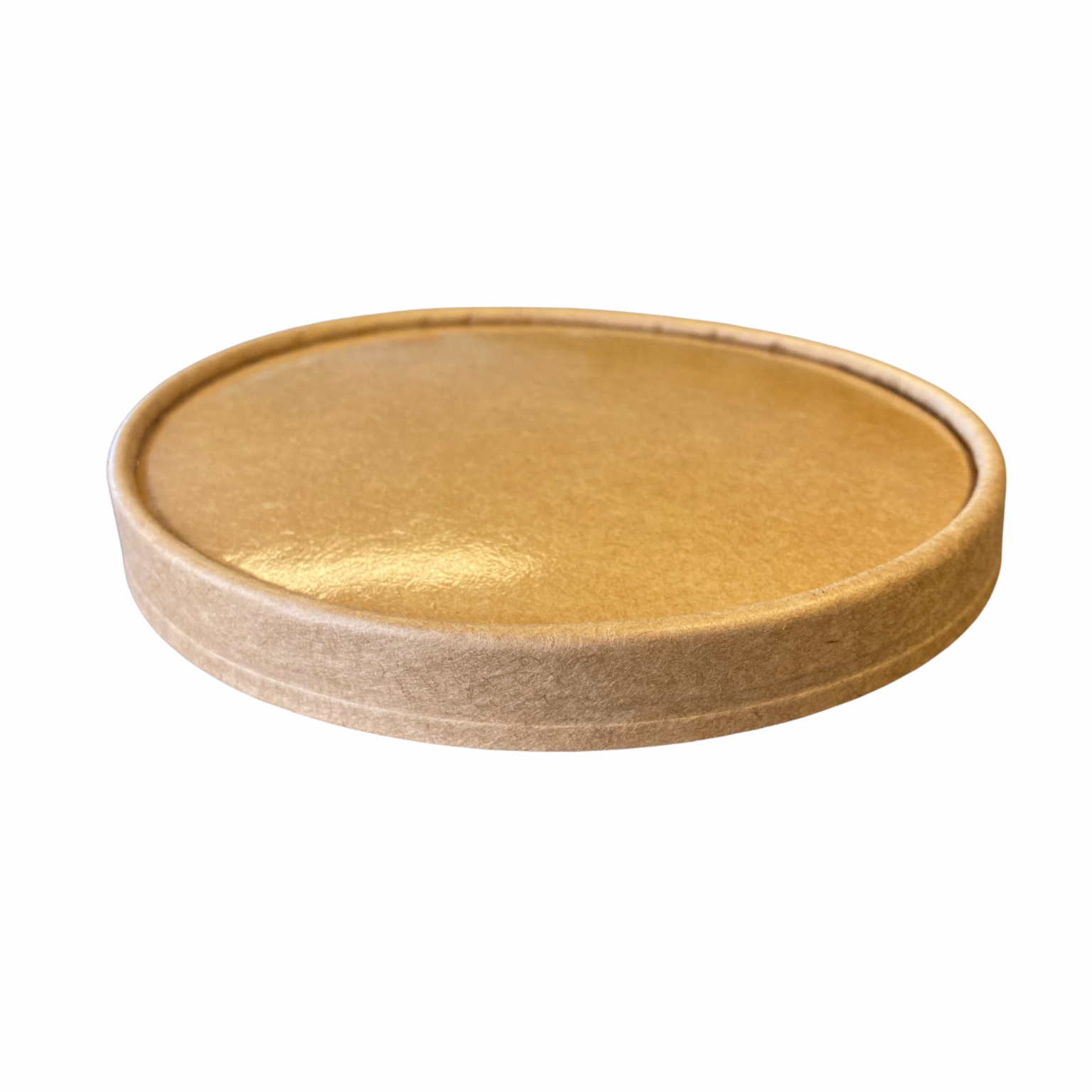 Kraft deksel voor kraft PLA bowl 500 750 1000 ml