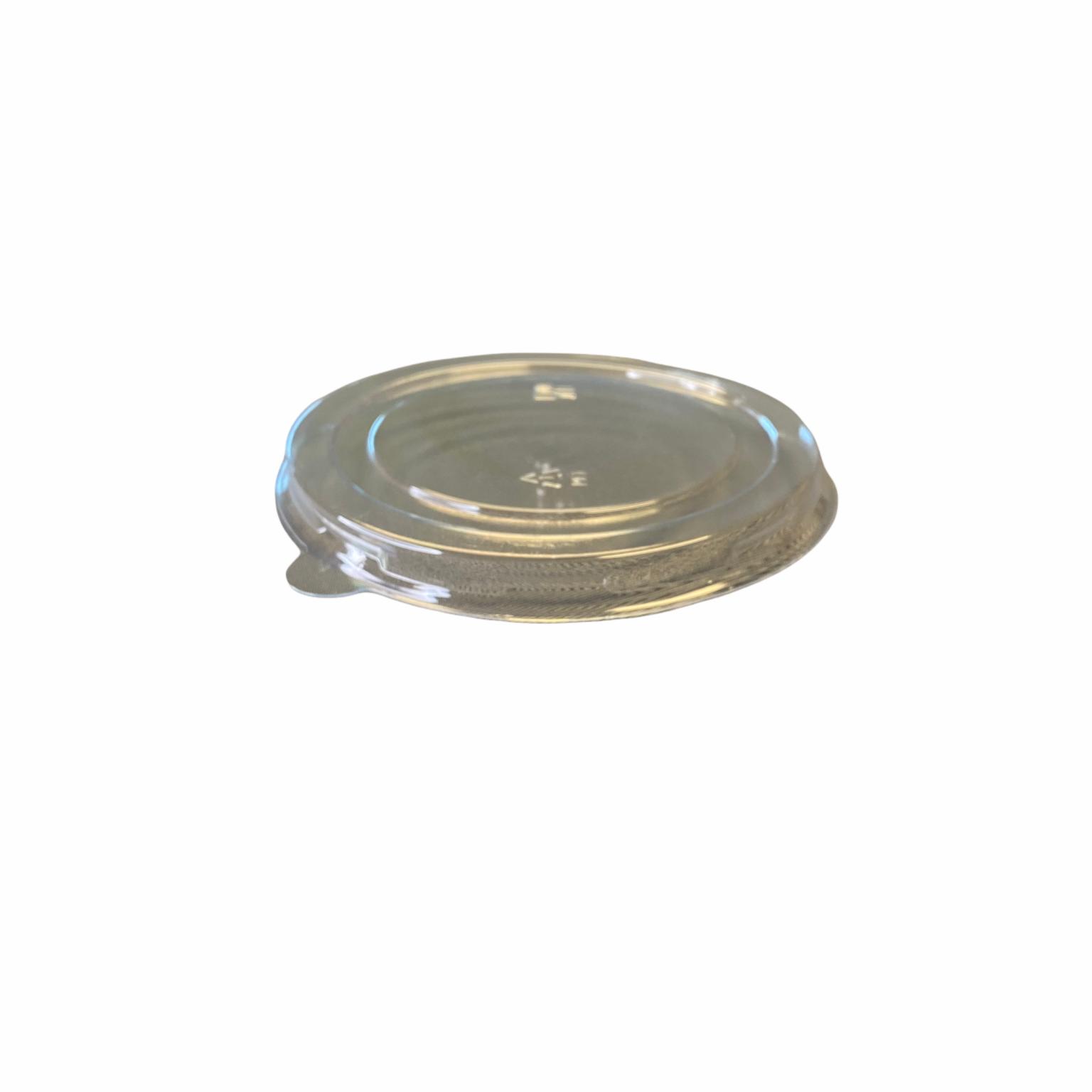 PET platte deksel voor soepbeker 480 ml